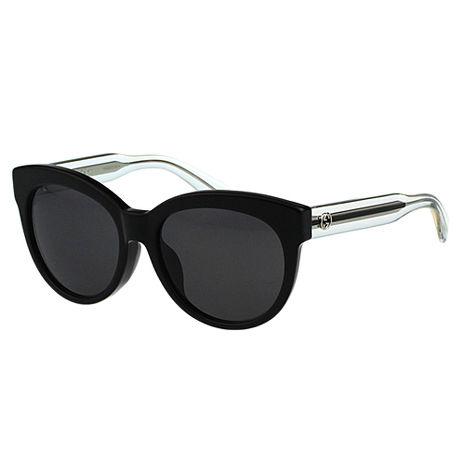 GUCCI- 最新 時尚 太陽眼鏡 (黑色)