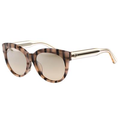 GUCCI- 廣告款 時尚 太陽眼鏡 (粉色)