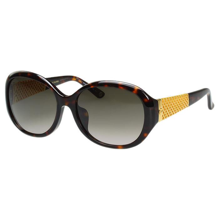 GUCCI- 奢華鍍金款 太陽眼鏡 (琥珀色)