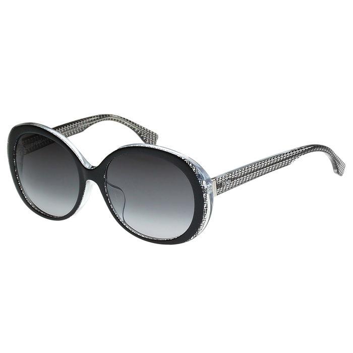 FENDI 圓面 時尚太陽眼鏡(黑色)活動品