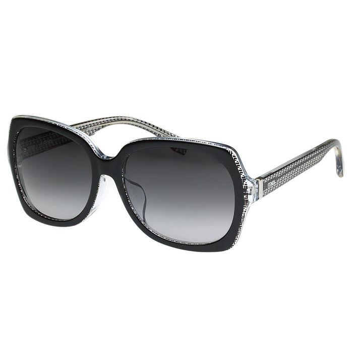 FENDI 東方版-時尚太陽眼鏡 (黑色)