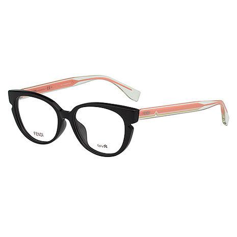 FENDI 光學眼鏡 (黑色)FF0143F