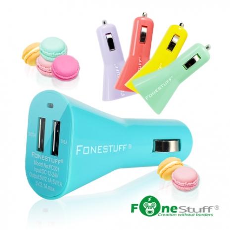 FONESTUFF FC001 3.1A雙USB車充