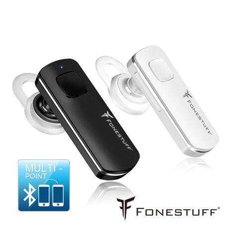Fonestuff瘋金剛 一對二長效能藍芽耳機FB001黑色
