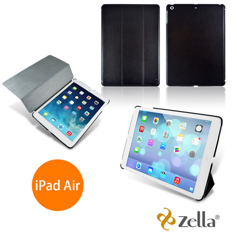 [福利品] Zella iPad Air 一代專用保護皮套 Z-Smart Air(BK)