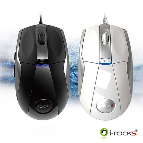 i-Rocks IR-7810R 遊戲光學滑鼠白色