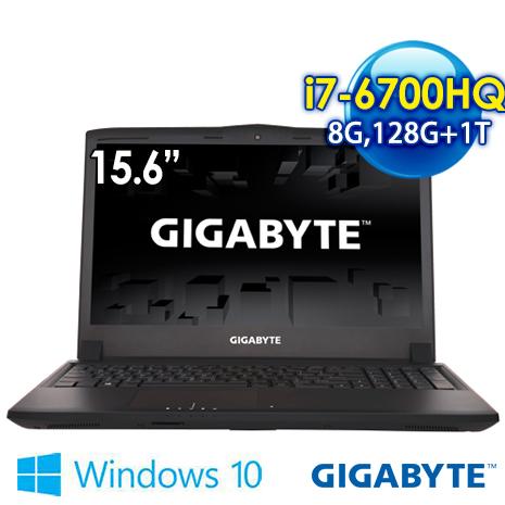 GIGABYTE P55KV5-2K7670H8GS1H1DDW10 15.6吋 筆電 (i7-6700HQ/8G/GTX965M2G獨顯/128G+1T/WIN10)