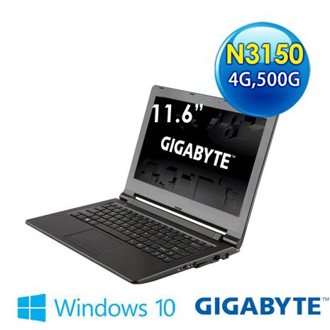 GIGABYTE Q21B-1KN3154GH5W10 11.6吋 筆電 (N3150/4G/500G/WIN10)