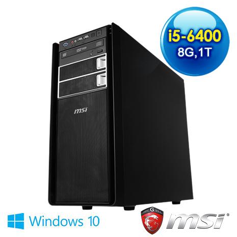 msi ProBox400(HS1)爆雪英霸電競專用機(i5-6400/8G/1T/GTX950)