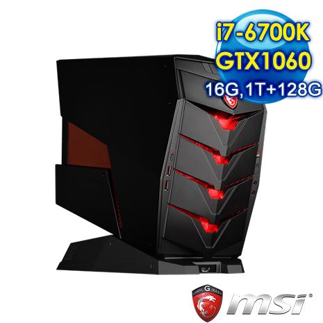 msi Aegis X-033TW-B7670K106616G1T012S10M 電競專用機(i7-6700K/16G/1T+128SSD/GTX1060)-數位筆電.列印.DIY-myfone購物