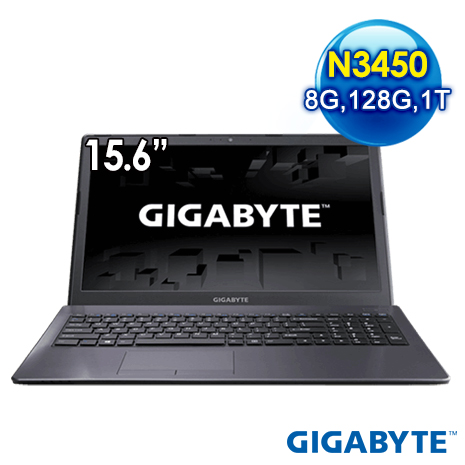 GIGABYTE Q35-1KN3458GS1H1W10 15.6吋 文書筆電(N3450/8G/1T/128G/WIN10)