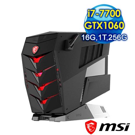 msi Aegis 3 VR7RC-029TW-B77700106616G1T025S10MHA 電競專用機(i7-7700/16G/1T/256G/GTX1060)