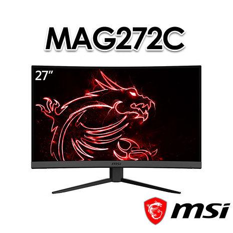 MSI微星 Optix MAG272C 27吋 曲面電競螢幕