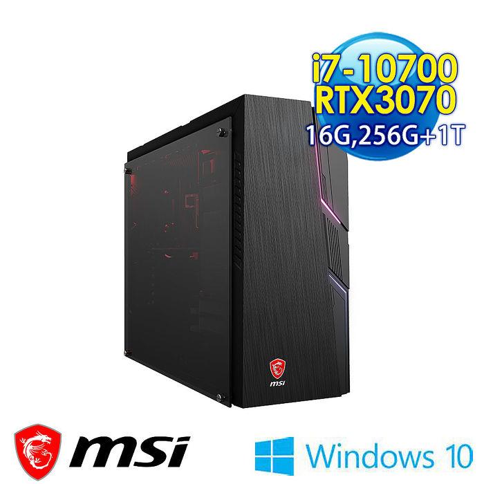 msi微星 MAG Codex 5 10TD-280TW 電競桌機-B710700307816G1T025X10MAAH1(i7-10700/16G/256G+1T/RTX3070-8G/Win10)
