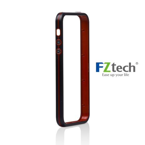 FZtech iPhone 5/5S – iMetal 系列 輕量無感 優質鋁合金手機保護框 – 黑莓色