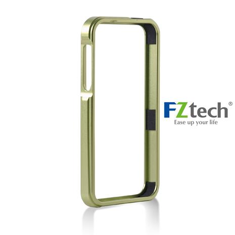 FZtech iPhone 5/5S – iMetal 系列CNC一體成型鋁合金手機保護框 – 亮黃綠