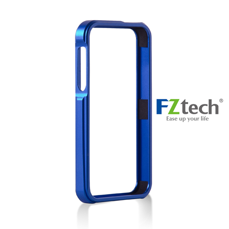 FZtech iPhone 5/5S – iMetal 系列CNC一體成型鋁合金手機保護框 – 海軍藍