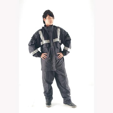 BrightDay風雨衣兩件式 - 透氣勤務款 深藍S