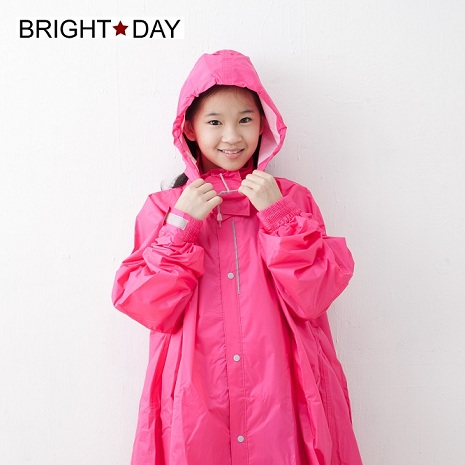 BrightDay風雨衣連身式 - 桑德史東T4兒童款 甜心粉S
