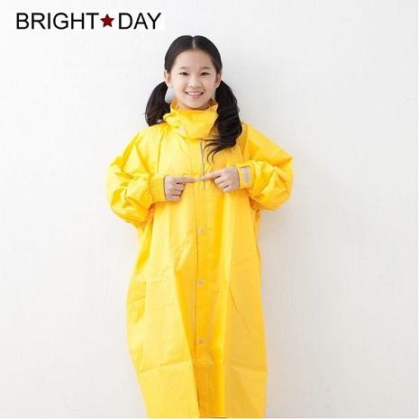 BrightDay風雨衣連身式 - 桑德史東T4兒童款 糖果黃L