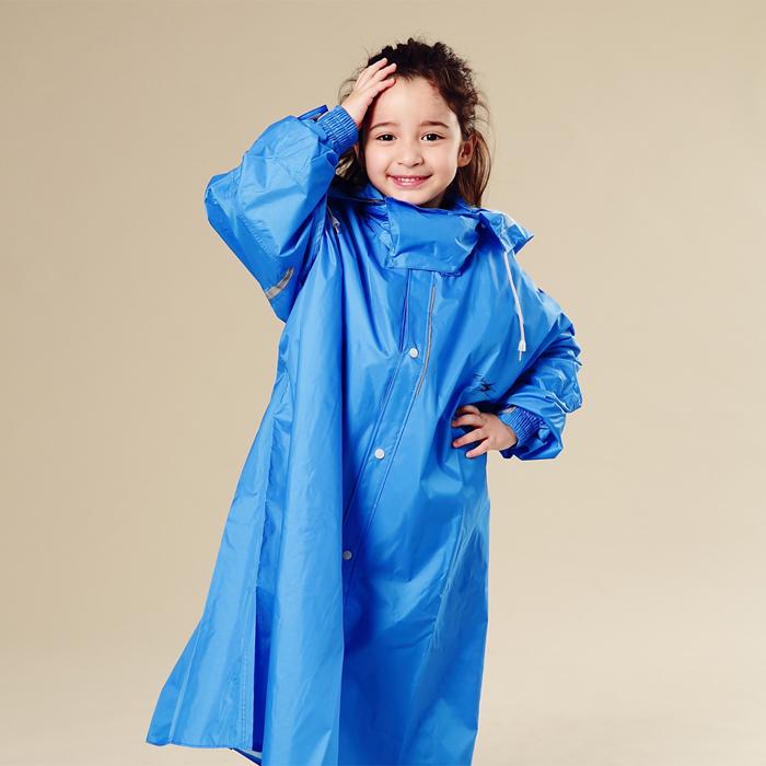 BrightDay風雨衣連身式 - 桑德史東T4兒童款 暴風藍L
