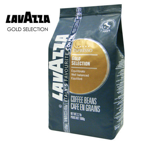 義大利 LAVAZZA GOLD SELECTION金牌咖啡豆(1000g)