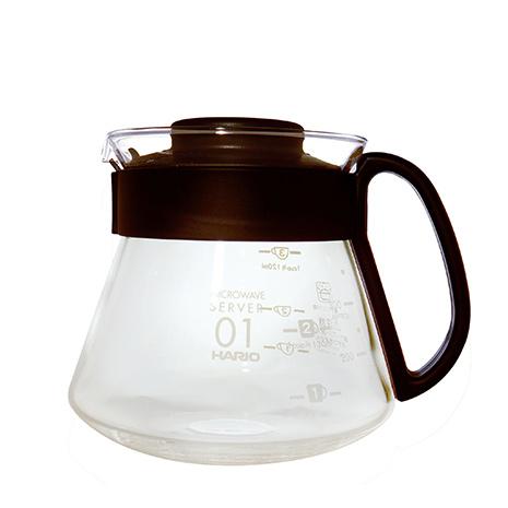 HARIO V60耐熱玻璃壺/1~3杯用/360ml /XVD-36B