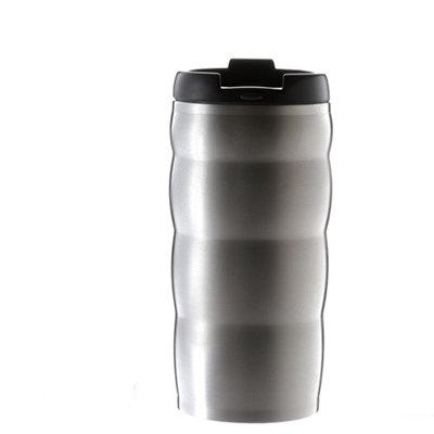 HARIO 真空不鏽鋼隨行杯 /銀色 / VUW-35HSV / 350ml
