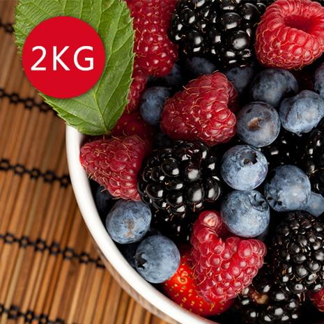【幸美生技】進口急凍莓果任選2公斤/栽種藍莓/蔓越莓/覆盆莓/黑莓/黑醋栗/草莓/紅櫻桃紅櫻桃x2