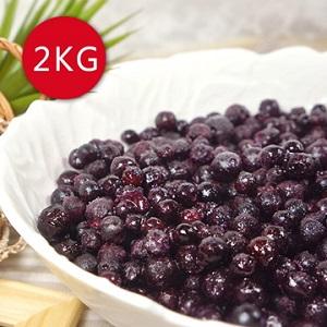 【幸美生技】加拿大進口野生藍莓2公斤