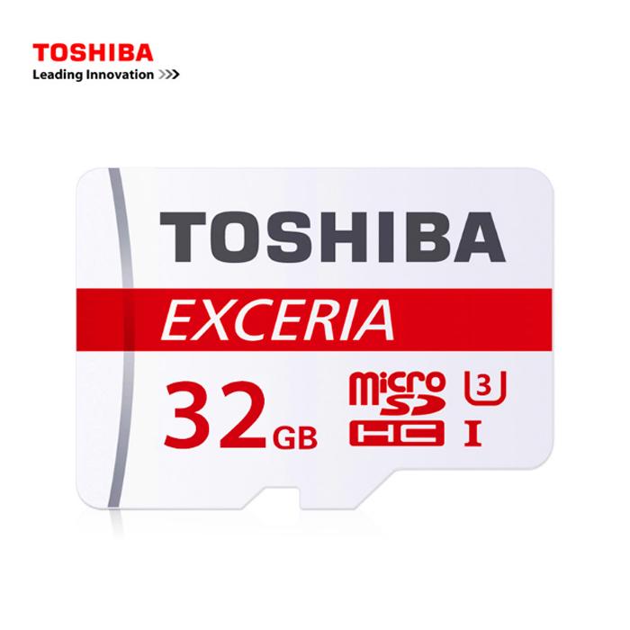 TOSHIBA MicroSDHC 90MB UHS-I (U3) 32GB 記憶卡 (附轉卡)