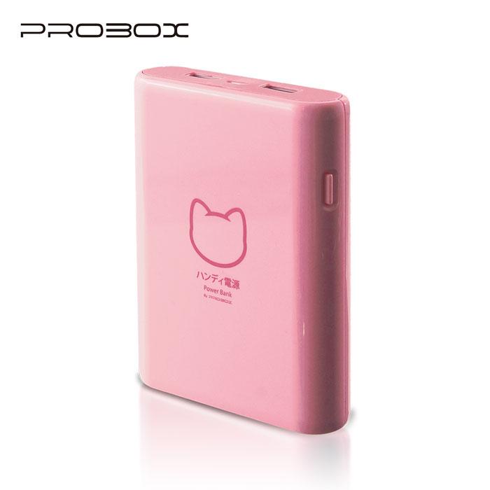 【17光棍節】PROBOX 三洋電芯 貓之物語系列 10400mAh 行動電源 粉色