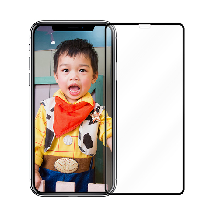 【買一送一】iPhone 11/ XR 6.1吋 全膠黑邊滿版高清防爆鋼化玻璃膜