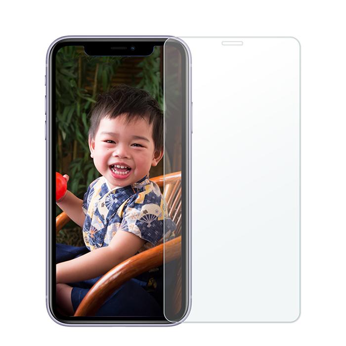 【買一送一】iPhone 11/XR 6.1吋 2.5D 9H 全透滿版鋼化玻璃保護貼