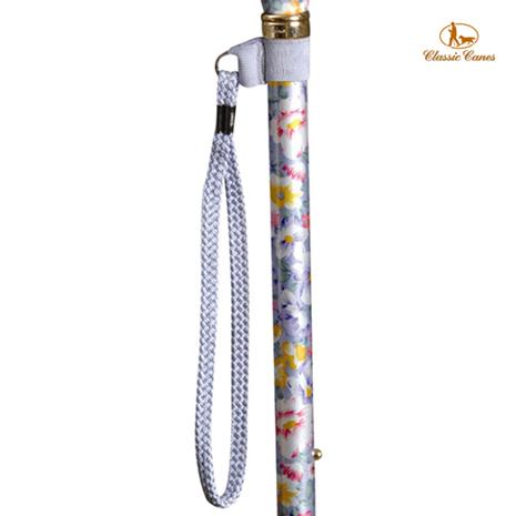 英國Classic Canes手杖配件。淡藍紫手腕環扣繩