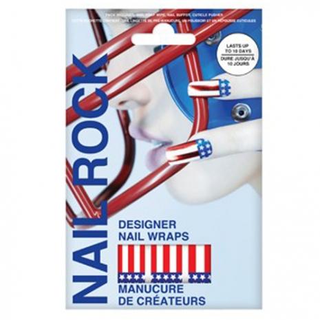 Nail Rock 魔幻美甲貼- 美國國旗(NR087)