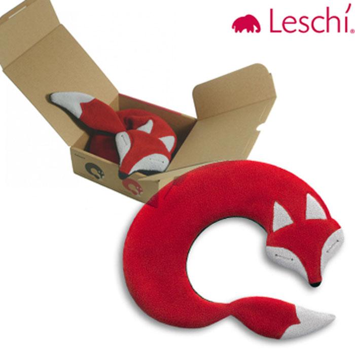 【德國萊思綺Leschi】舒緩肩頸熱敷/冷敷袋(狐狸造型-紅色)