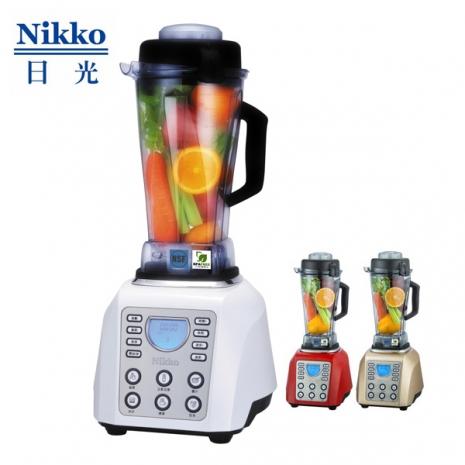 NIKKO日光數位全營養調理機BL-168(白/紅/金)白色
