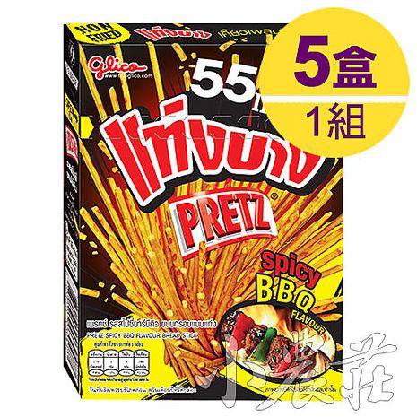 PRETZ百力滋 餅乾棒.香辣BBQ味 (1組/5盒)