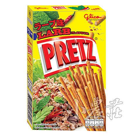 PRETZ百力滋 餅乾棒.泰式打拋肉_(1盒/38g)-品牌館