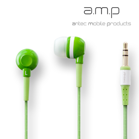 Antec mobile products (a.m.p) dBs入耳式耳機 (綠)