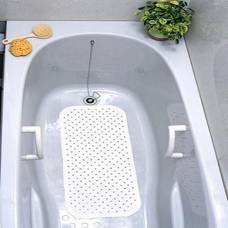 日本waise浴缸專用大片止滑墊(米白)