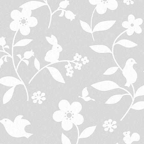 【8折促銷】日本meiwa抗UV靜電窗貼 (花卉小物) - 46x100公分