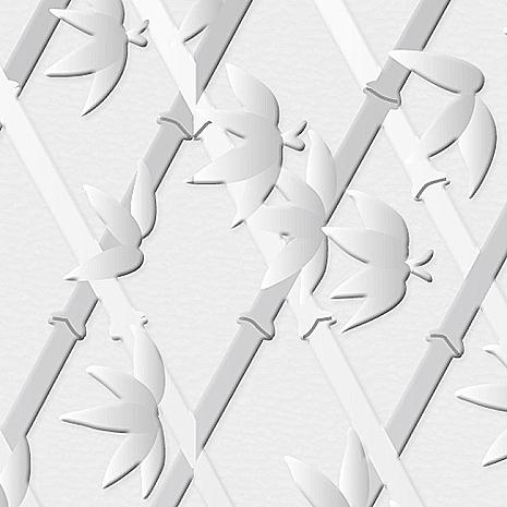 【8折促銷】日本meiwa抗UV靜電窗貼 (竹籬意象) - 46x100公分