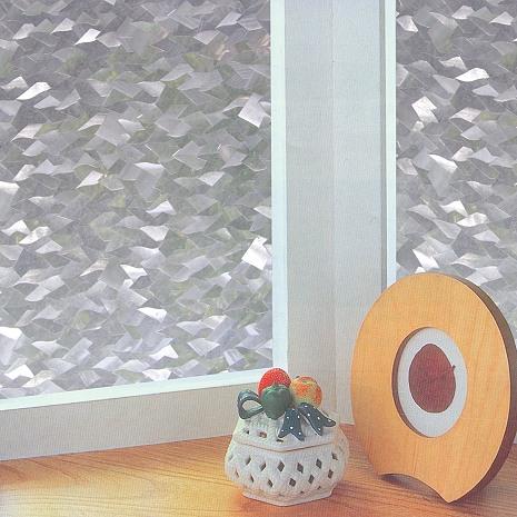 【8折促銷】日本meiwa抗UV靜電窗貼 (片片星鑽) - 46x100公分