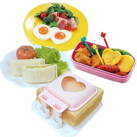 日本製造sanada(蒸蛋模具+三明治模具)2件組
