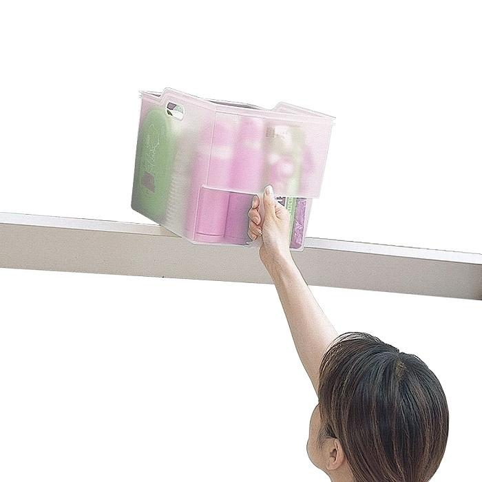 日本製造FUDOGIKEN高位層板專用-手持收納籃(10公升)
