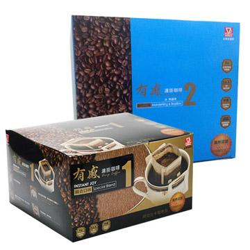 【金樂客】有感濾掛咖啡-綜合&曼巴(50包/盒)X2盒