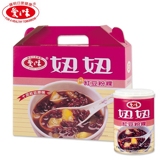 【愛之味】妞妞紅豆粉粿260g(12入/盒)