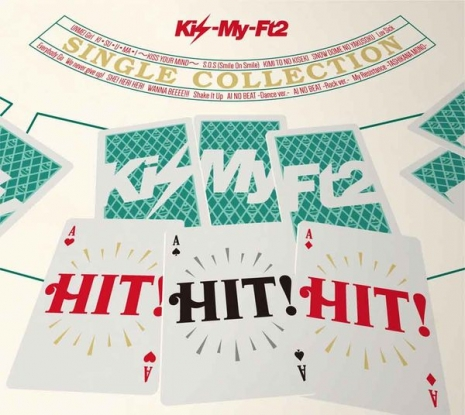 Kis-My-Ft2  HIT HIT HIT  CD附DVD